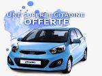Gagner une voiture gratuitement
